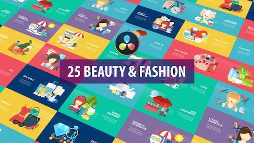 Beauty and Fashion Animation | DaVinci Resolve