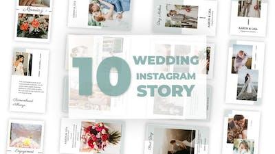 Wedding Instagram Story