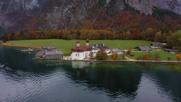 Thumbnail for Saint Bartolomew Church At The Konigsee Lake 6