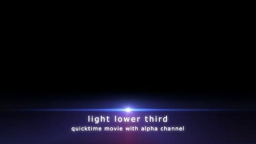 Light Lower Third