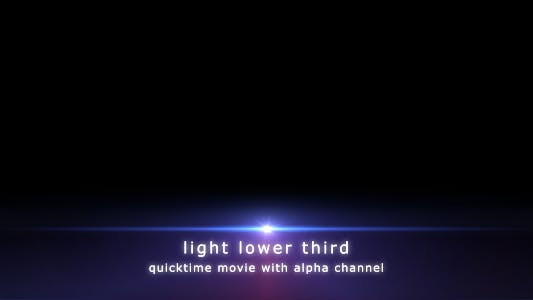 Cover Image for Light Lower Third