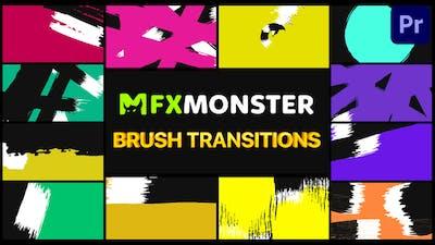 Brush Transitions | Premiere Pro MOGRT
