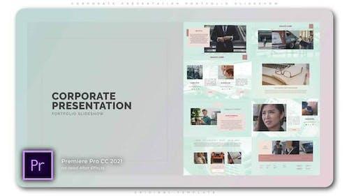 Corporate Presentation Portfolio Slideshow