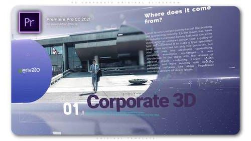 3D Corporate Original Slideshow