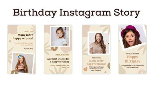 Birthday Instagram Story
