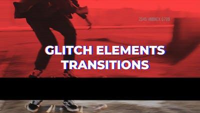 Glitch Elements Transitions