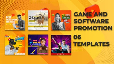 Game & Software Promo Instagram Ad