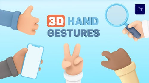3D Hand Gestures for Premiere Pro
