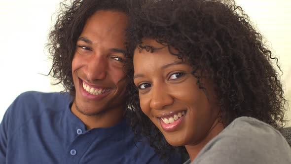 Thumbnail for Black couple laughing