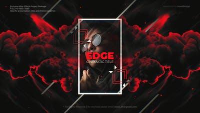 Edge Cinematic Titles