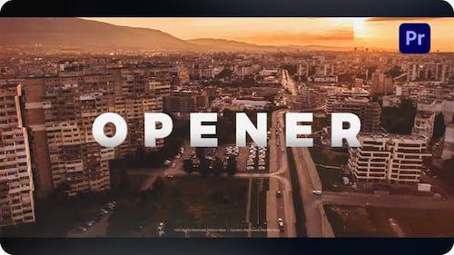 Opener for Premiere Pro