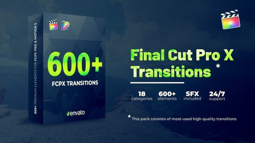 Transitions FCPX