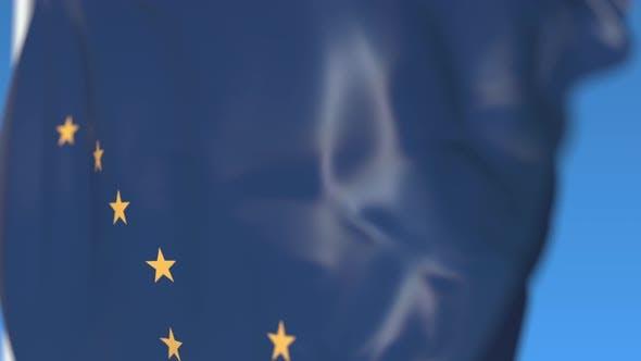 Thumbnail for Waving Flag of Alaska
