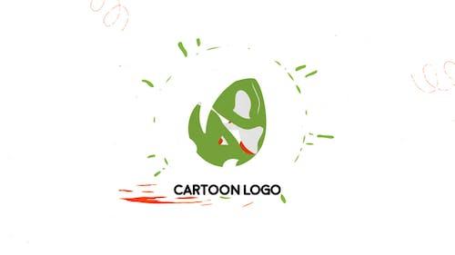 Cartoon Liquid Logo | After Effects Template