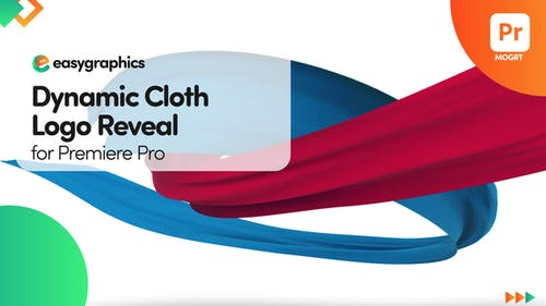 Dynamic Cloth Logo Reveal for Premiere Pro