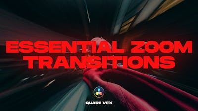 Essential Zoom Transitions for DaVinci Resolve