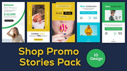 Shop Instagram Story After Effect Template