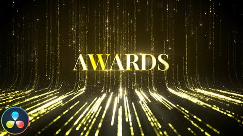 Awards Titles - DaVinci Resolve