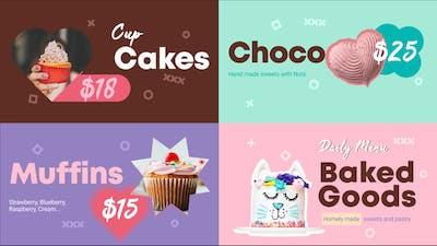 Baked Goods Menu || FCPX