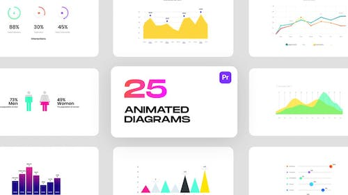 Animated Diagrams for Premiere Pro