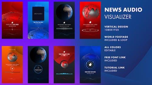 News Audio Visualizer