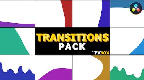 Dynamic Cartoon Transitions   DaVinci Resolve