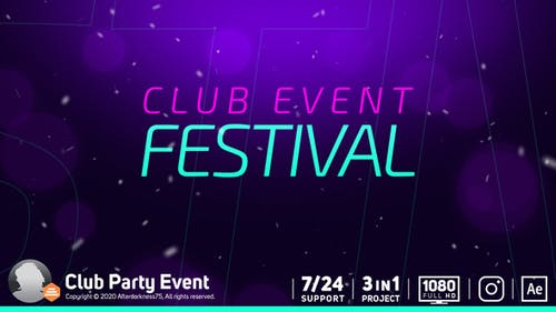 Club Party Event