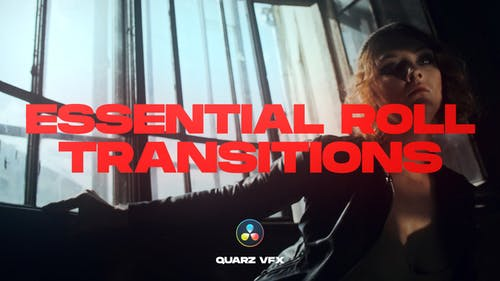 Essential Roll Transitions for DaVinci Resolve