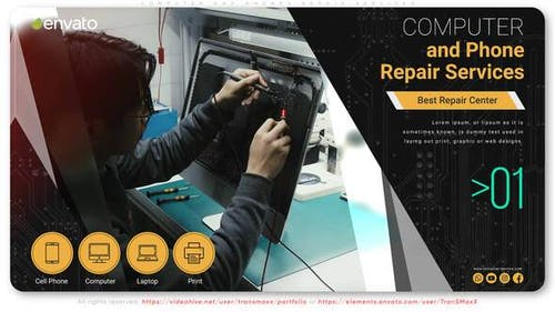Computer and Phones Repair Services