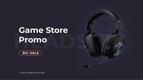 Sale Product Promo | Game Store B100