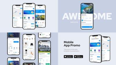 Clean Mobile App Promo