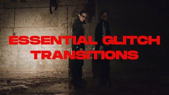 Essential Glitch Transitions for DaVinci Resolve