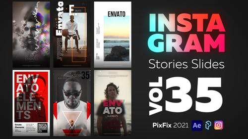 Instagram Stories Slides Vol. 35
