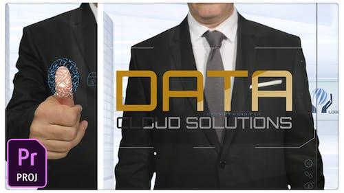 Data & Cloud Cyber Security Title & Logo
