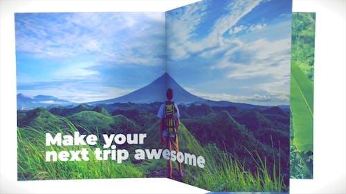 Travel Book Opener