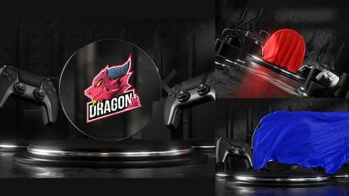 Gaming Logo Cloth Reveal