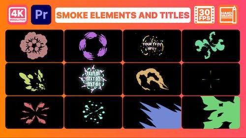 Smoke Pack 02 and Titles   Premiere Pro MOGRT
