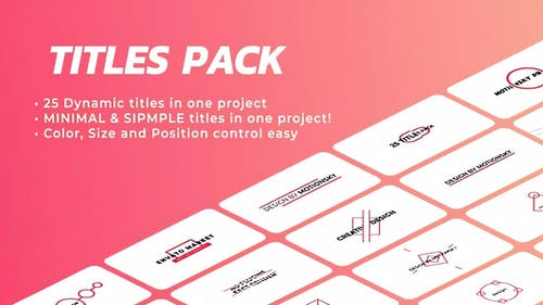 Ingenious Titles Pack | DaVinci Resolve