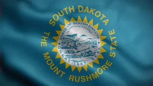 South Dakota State Flag Front