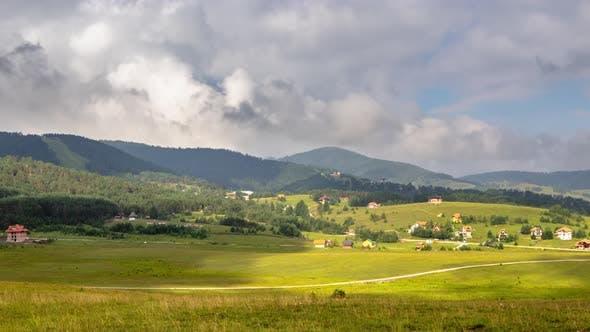 Thumbnail for Zlatibor Mountain Landscape Timelapse