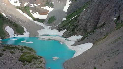 Accessible By an Extreme Hiking Trail, the View of Hidden Lake Is Rewarded with the Backdrop of the
