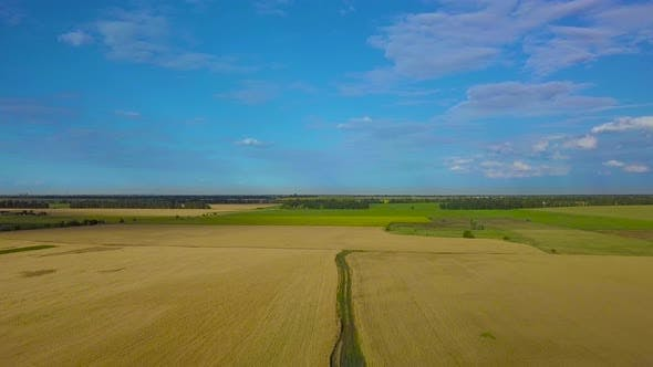 Thumbnail for Flying Over Agricultural Fields