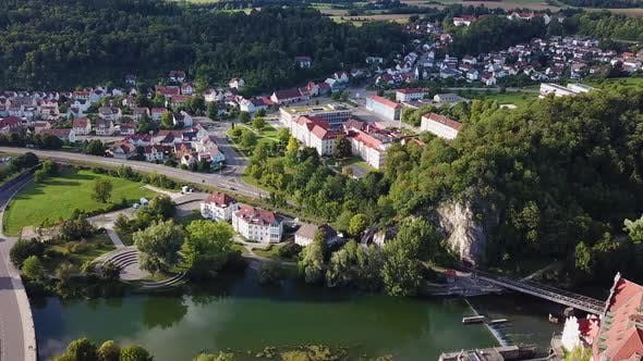 Thumbnail for Aerial View of the Castle Sigmaringen. Germany in the Summer