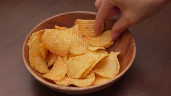Thumbnail for Eat with stack of potato chip