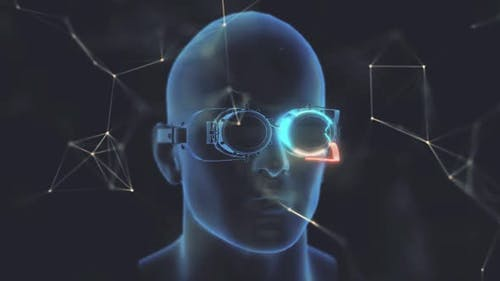 Steampunk Glasses In Head Hd