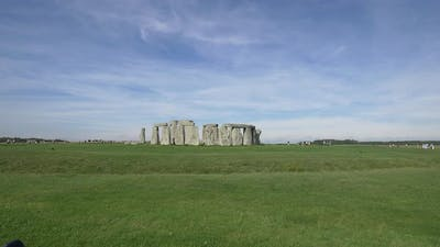 The famous Stonehenge in Wiltshire