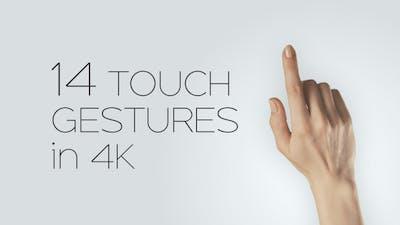 14 Touchscreen Gestures On Alpha