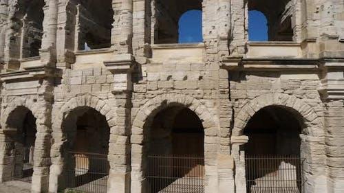 Roman arena, Arles, Bouches du Rhone department, France