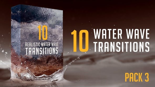 Thumbnail for Water Wave Transitions Pack 3