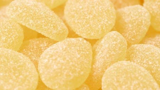 bonbon jaune